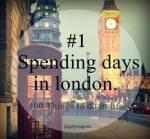 spenddaysinLondon