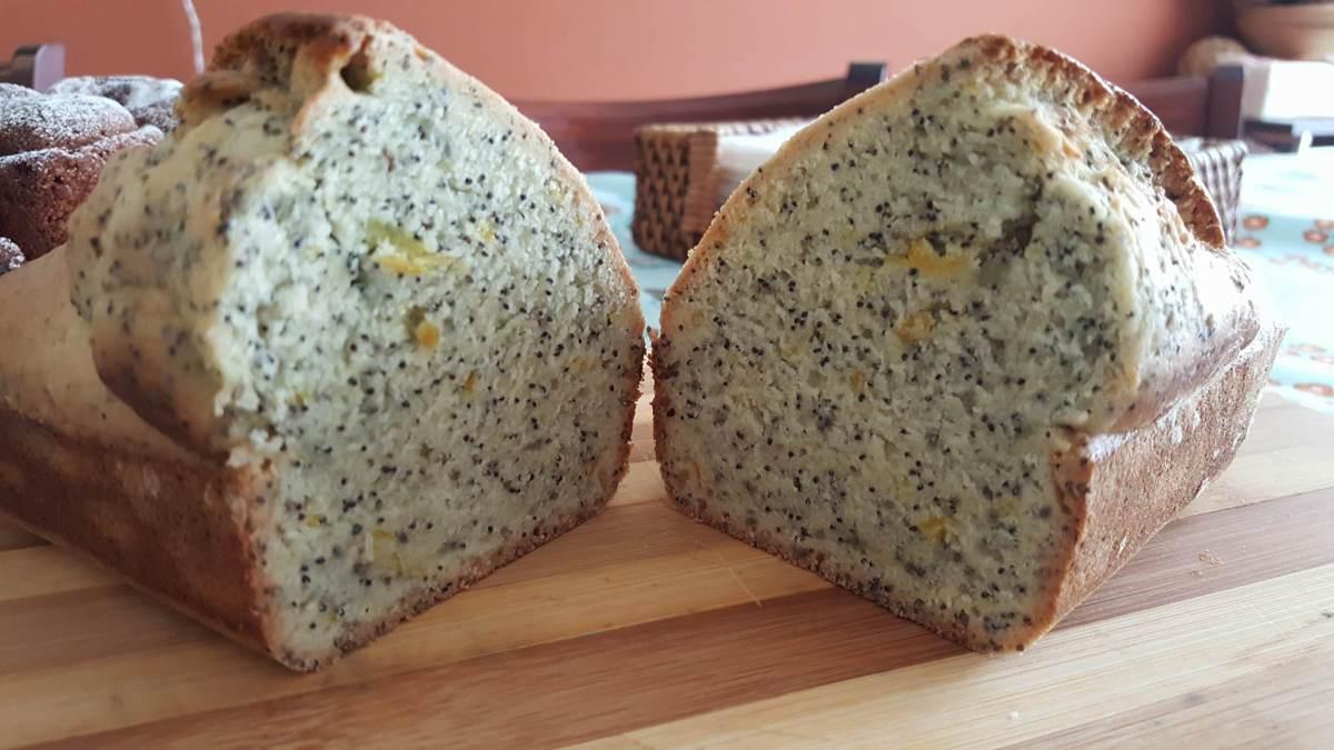 Algunas notas sobre la sustitución de ingredientes y receta de budín vegano de limón y semillas de amapolas #vegan #veganfood #veganpastry