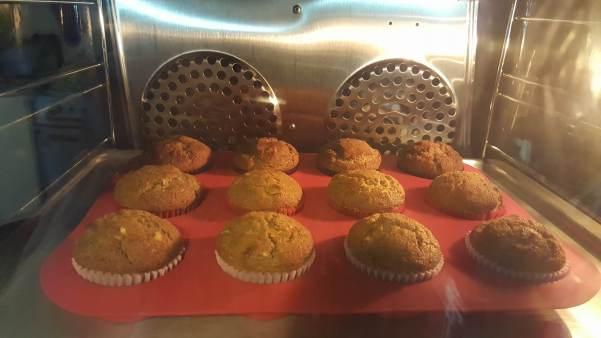 pumpkin muffins horno