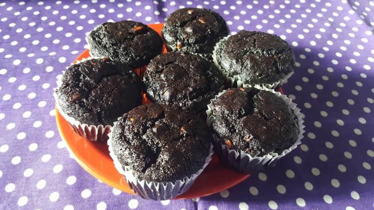 vegan muffin algarroba2