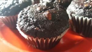 vegan muffins algarroba1