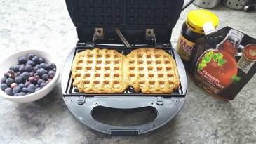 waffles-veganos-de-avena