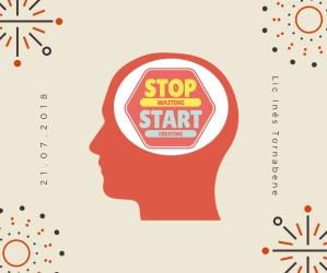 stop waiting start creating